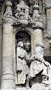 La Neuville-lès-Corbie église (détail du tympan) 1