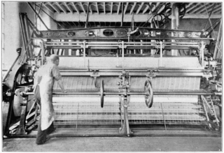 Leavers machine lacemaking machine invented by John Levers