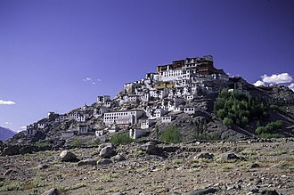 Decline of Buddhism in the Indian subcontinent - Image: Ladakh Monastery