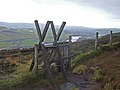 Ladder Stile above Longdendale - geograph.org.uk - 292231.jpg
