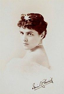 Lady Randolph Churchill American-born British wife of Lord Randolph Churchill, mother of Winston Churchill