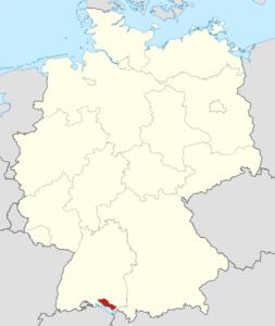 Lago Di Costanza Germania Cartina.Circondario Del Lago Di Costanza Wikipedia