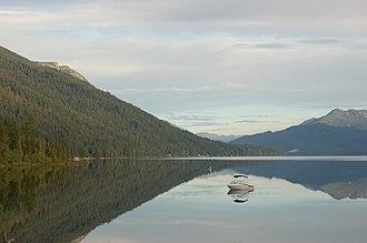 Lake Wenatchee - Image: Lake Wenatchee State Park (185827987)
