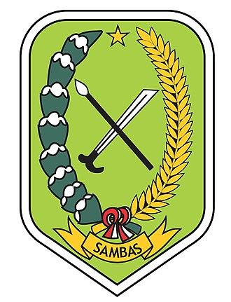 Sambas Regency - Image: Lambang Kabupaten Sambas