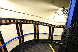 Lambeth North tube station stairwell