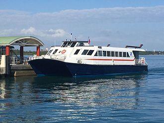 Cataño Ferry - Image: Lancha de Cataño (01)