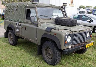 Land Rover Wolf Light utility vehicle