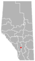 Langdon, Alberta Location.png