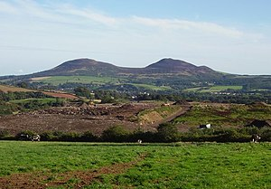 English: Langlee landfill. Landfill site with ...