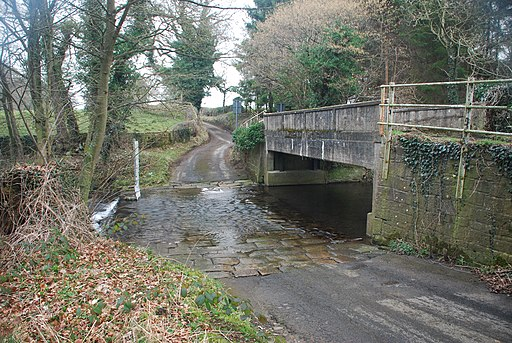 Langley Beck Ford (geograph 4389297)