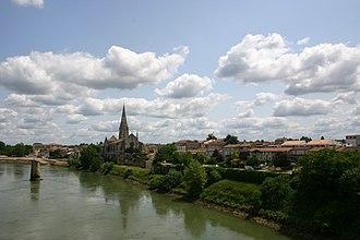 Langon, Gironde - Image: Langon, Gironde