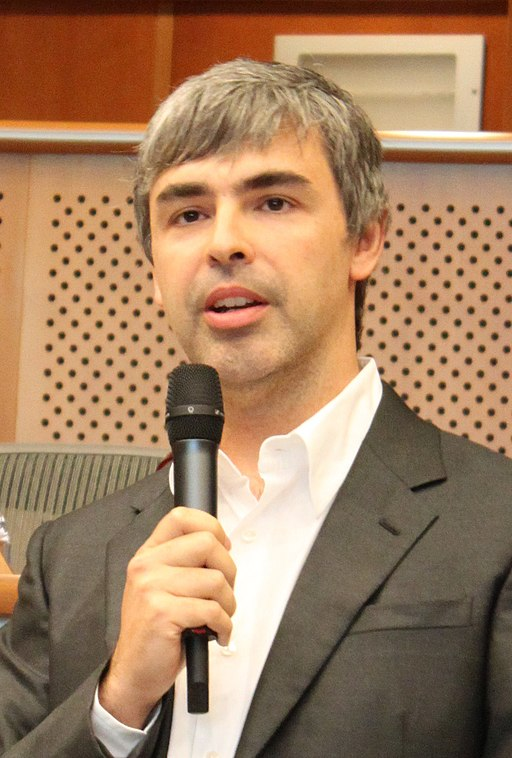 Larry Page in the European Parliament, 17.06.2009 (cropped1)