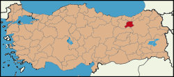 Latrans-Turkey location Bayburt.svg