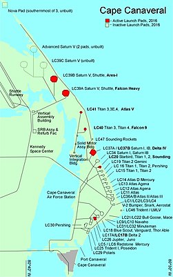 Launch complexes at Cape Canaveral Air Force Station.jpg