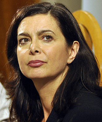 Politics of Italy - Laura Boldrini, President of the Chamber of Deputies since 16 March  2013.
