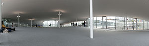 Rolex Learning Center - Interior of the building.