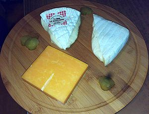 English: Cheese: Le Rustique (French Camembert...