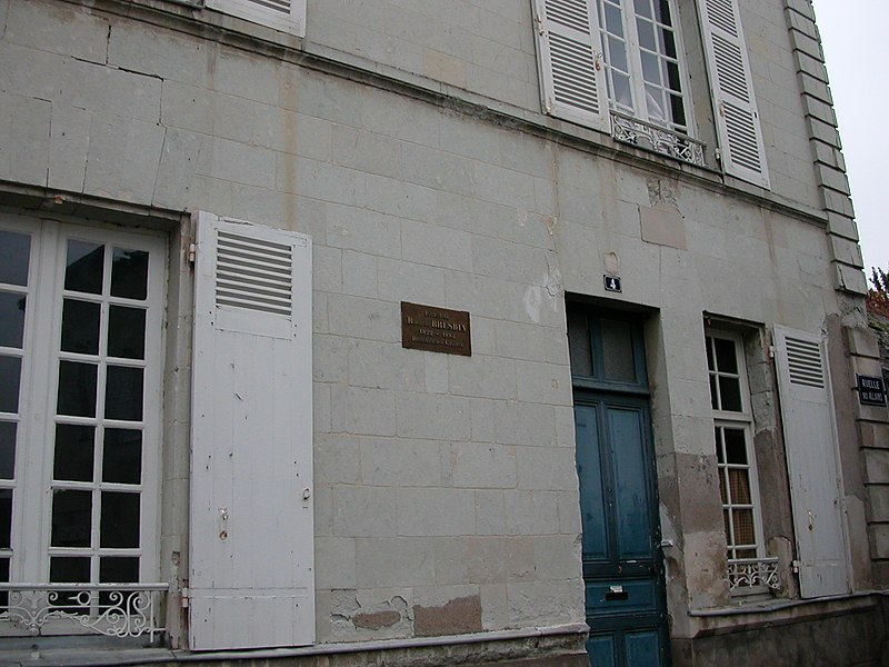 Native house of the printmaker Rodolphe Bresdin in Le Fresne-sur-Loire