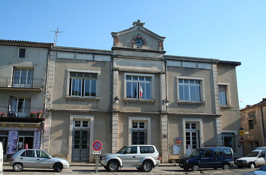 Le Poujol-sur-Orb (Hérault) - mairie.