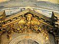 Le Thillay (95), église Saint-Denys, bas-côté nord, autel et retable de la Vierge 3.JPG