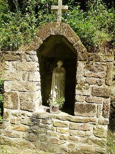 Le site de la chapelle notre dame de lourdes