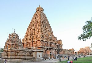 Brihadisvara Temple, Thanjavur - Brihadishvara temple complex
