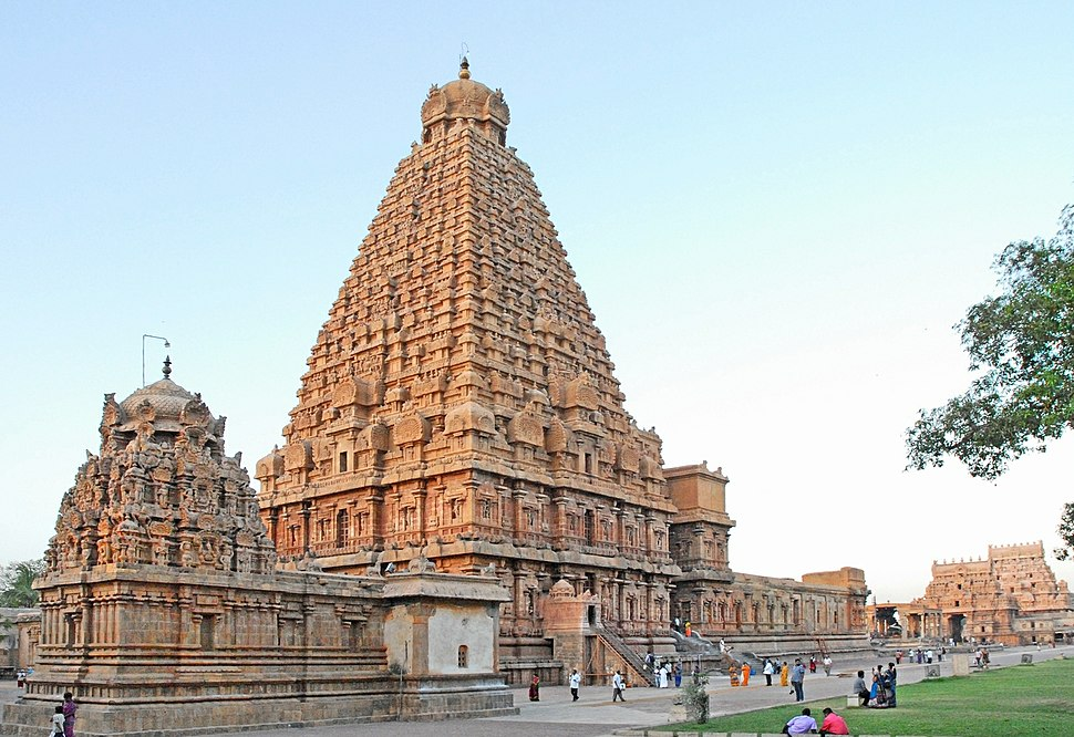 Brihadisvara temple complex is a part of the UNESCO World Heritage Site known as the Great Living Chola Temples