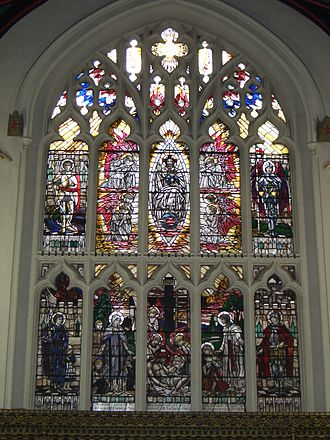 Leicester Cathedral - East window