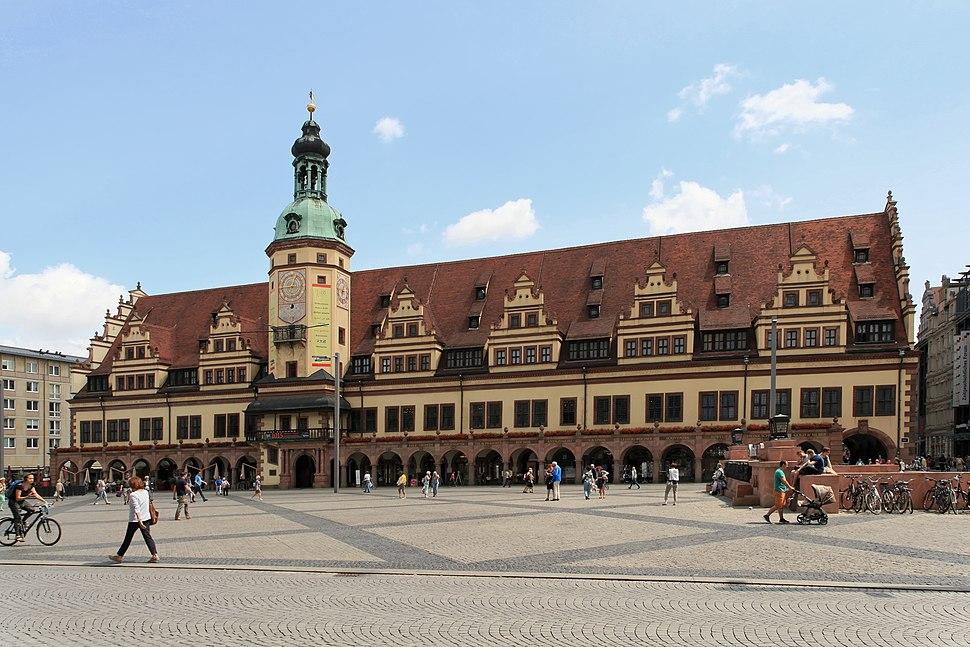 Leipzig - Markt + Altes Rathaus 06 ies