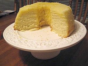Lemon chiffon - A lemon chiffon cake
