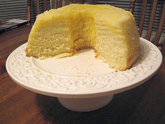 Shades of yellow - A lemon chiffon cake