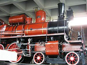 Locomotive U-127 - Image: Lenin Funeral Train, Paveletsky Rail Terminal