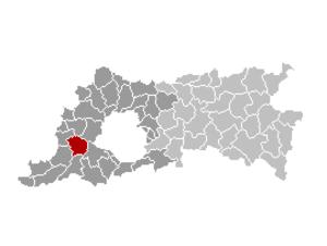 Lennik - Image: Lennik Locatie