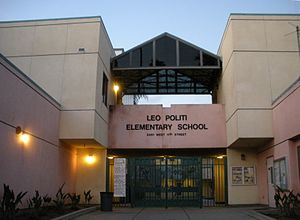 Leo Politi - Leo Politi Elementary School, Koreatown, Los Angeles