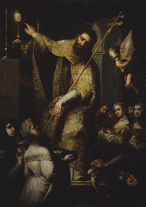 Simón de León Leal - Triumph of Saint Norbert, The Hermitage Museum