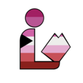 Lesbian Demisexual Pride Library Logo.png