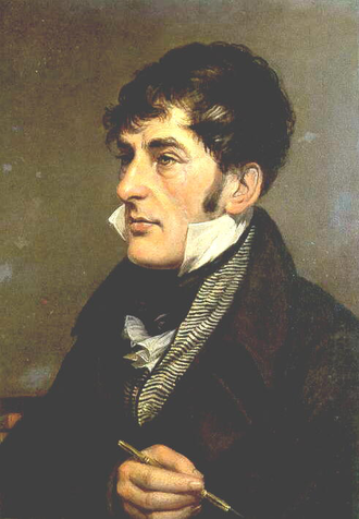 Charles Alexandre Lesueur - Lesueur in 1818, painted by Charles Willson Peale