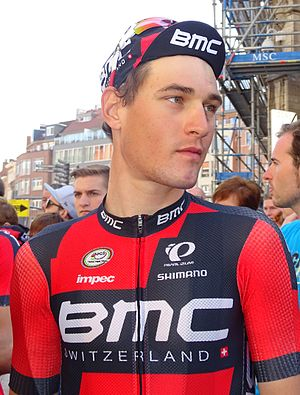 Silvan Dillier - Dillier at the 2015 Brabantse Pijl