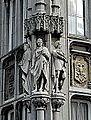 Liège, Palais Provincial07, statues de Mathias-Guillaume de Louvrex, Charles de Méan et Jean Del Cour.JPG