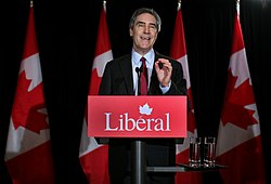 Liberal leader Michael Ignatieff speaks during a news conference in Toronto.jpg