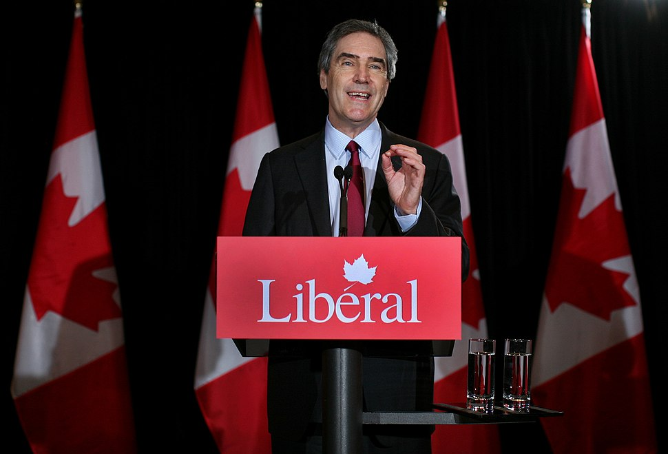 Liberal leader Michael Ignatieff speaks during a news conference in Toronto