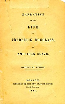 Essays written by frederick douglass