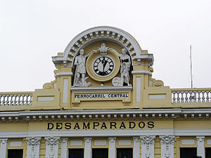 Desamparados station - Detail
