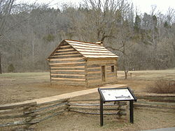 Lincoln Knob Creek Gollaher Cabin.JPG