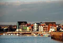 Littlehampton Harbour, Okcidenta Sussex.jpg