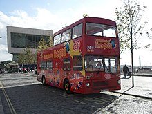 Liverpool Citysightseeing bus 363 (KYV 720X), 2009 Merseyside Transport Trust running day (3).jpg