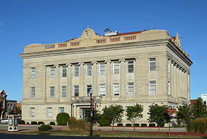 Livingston County courthouse in Chillicothe