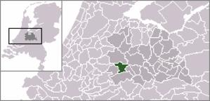 Linschoten (village) - Image: Locatie Montfoort