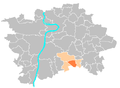 Location map municipal district Prague - Újezd.PNG