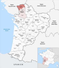 Locator map of Arrondissement Bressuire 2019.png